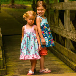 Lemon Drop Dress and Tunic Sewing Pattern for Girls