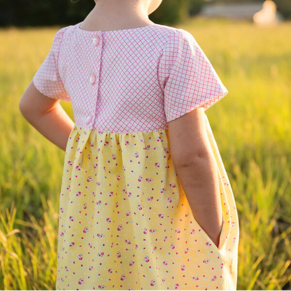 Clementine Dress Sewing Pattern PDF