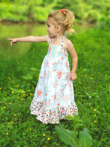 Solana Sundress Pattern - Sewing Pattern for Girls